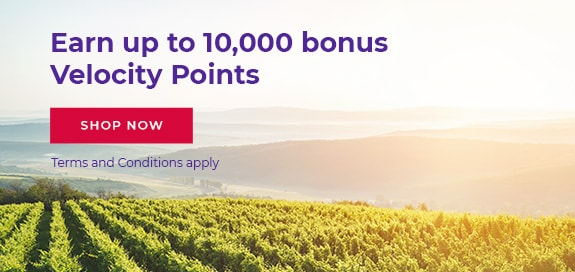 Earn up to 10,000 bonus Velocity Points