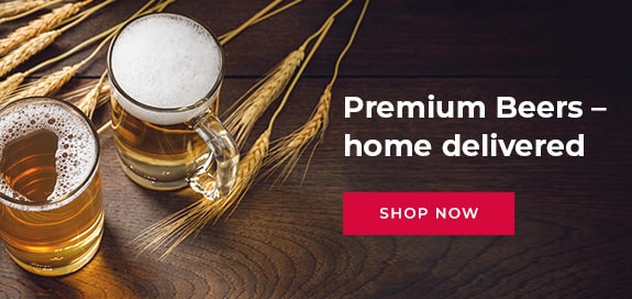 Premium Beers - home delivered