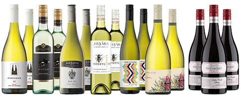 Summer Bonus Whites + 3 Free Shiraz